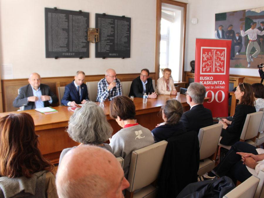 L'assemblée générale d'Eusko Ikaskuntza Iparralde a eu lieu à Saint Jean de Luz