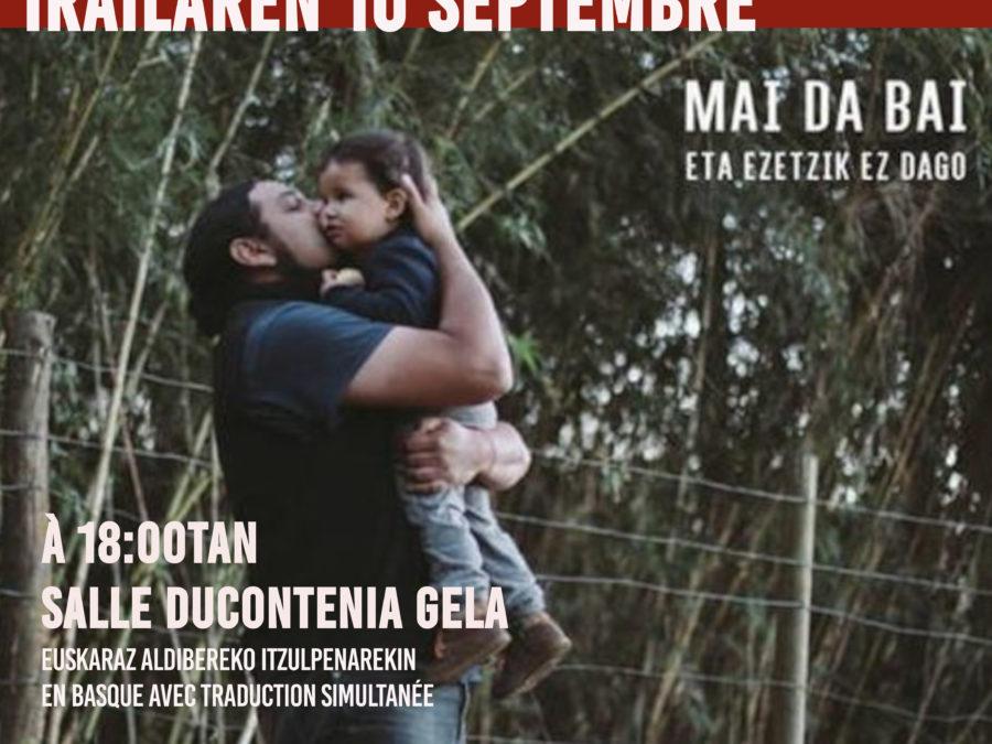 Diffusion du documentaire Mai da Bai le vendredi 10 septembre à Ducontenia